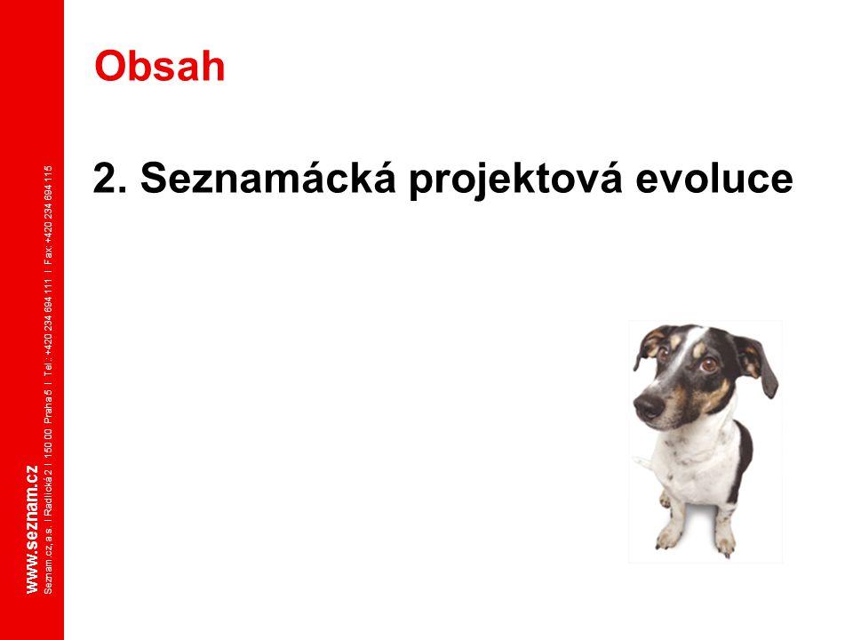 2. Seznamácká projektová evoluce