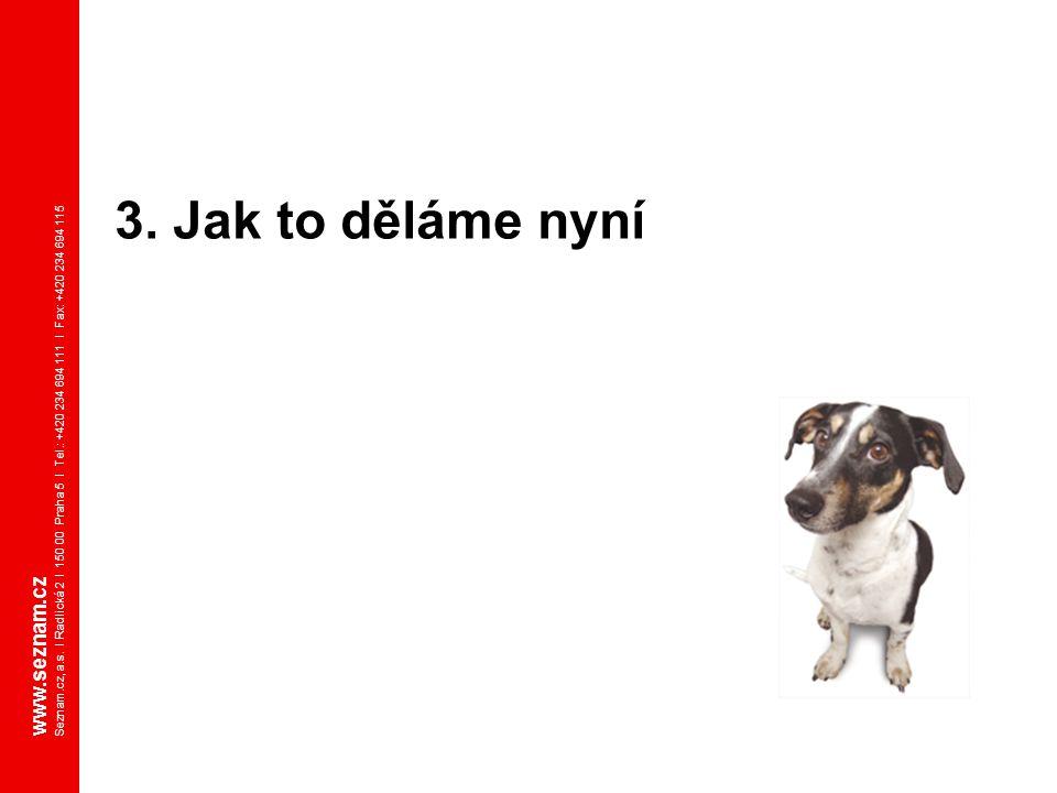 3. Jak to děláme nyní www.seznam.cz