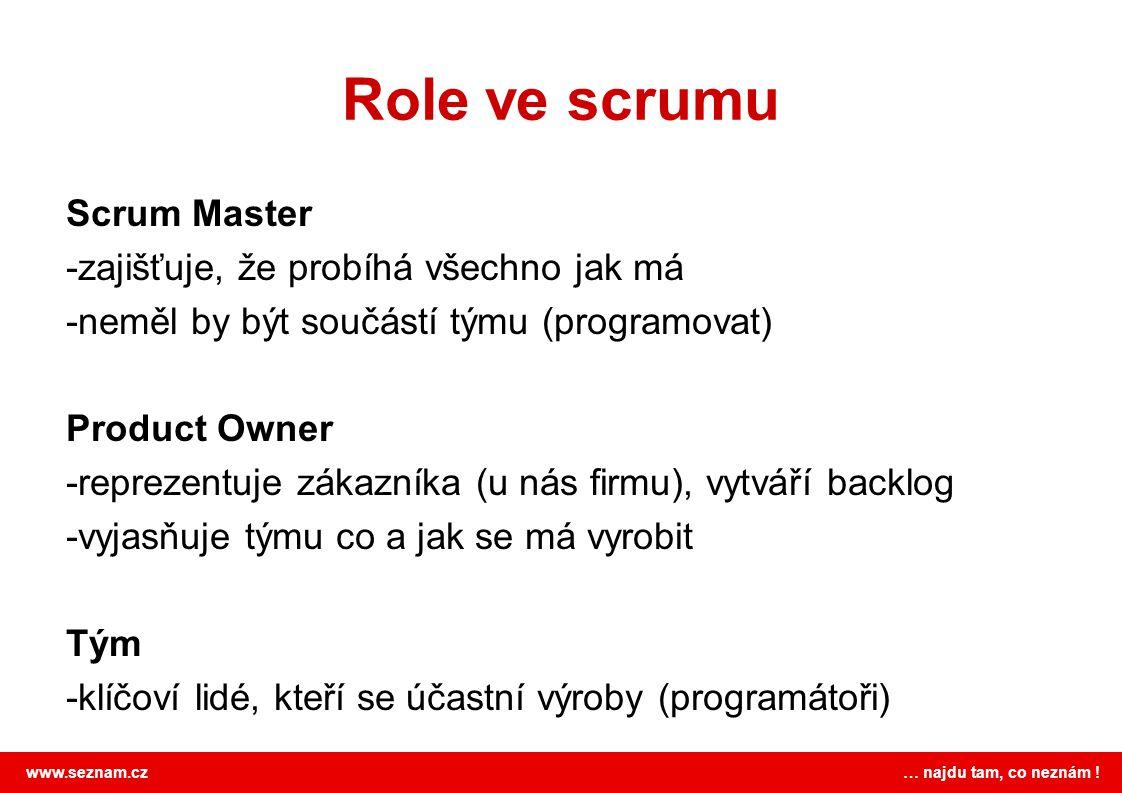 Role ve scrumu