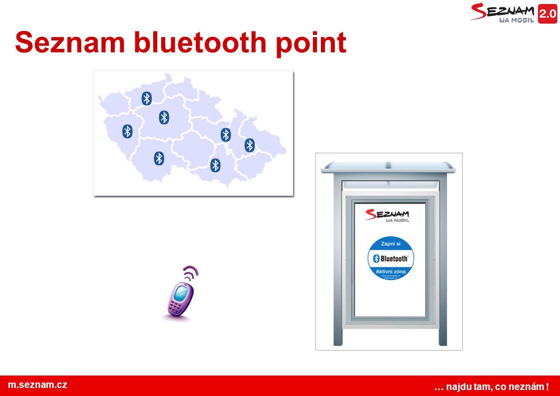 Seznam bluetooth point