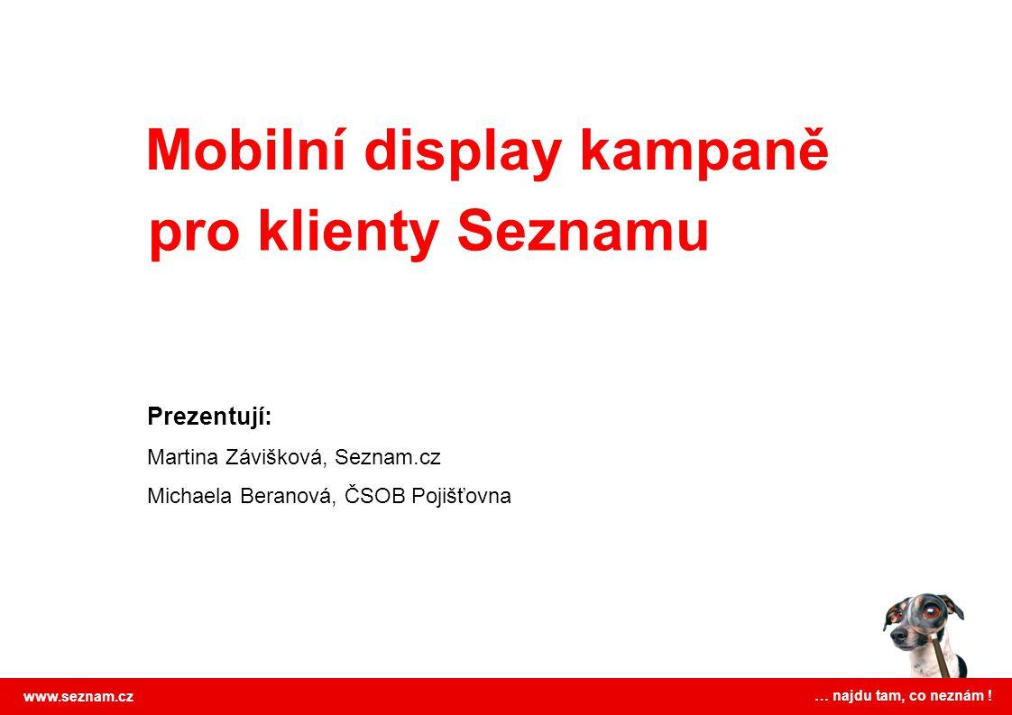 Mobilní display kampaně