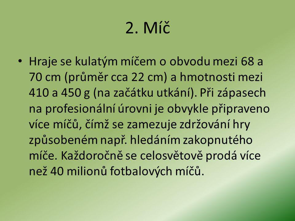 2. Míč