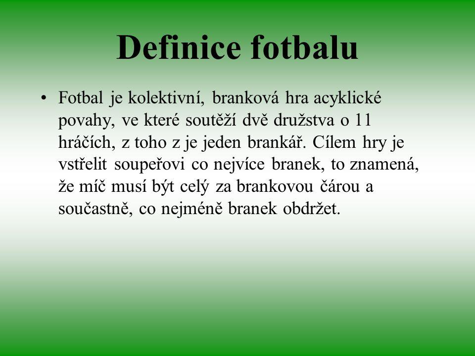 Definice fotbalu