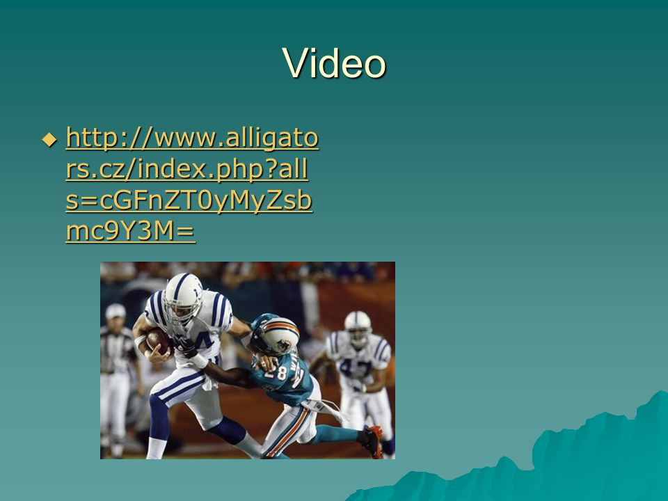 Video http://www.alligators.cz/index.php alls=cGFnZT0yMyZsbmc9Y3M=