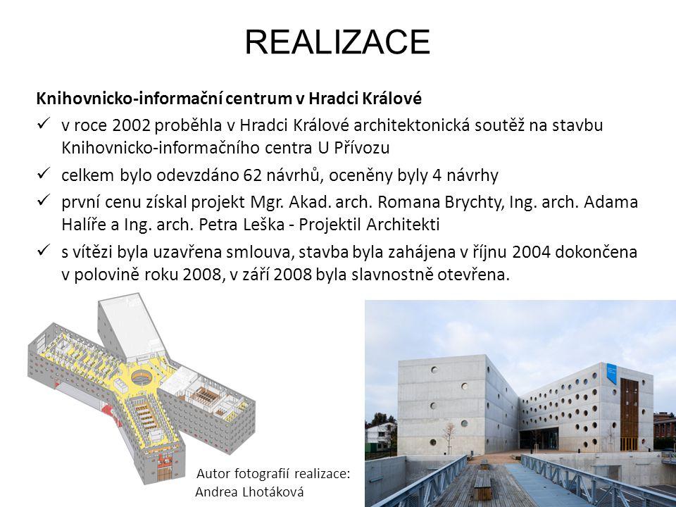 REALIZACE Knihovnicko-informační centrum v Hradci Králové