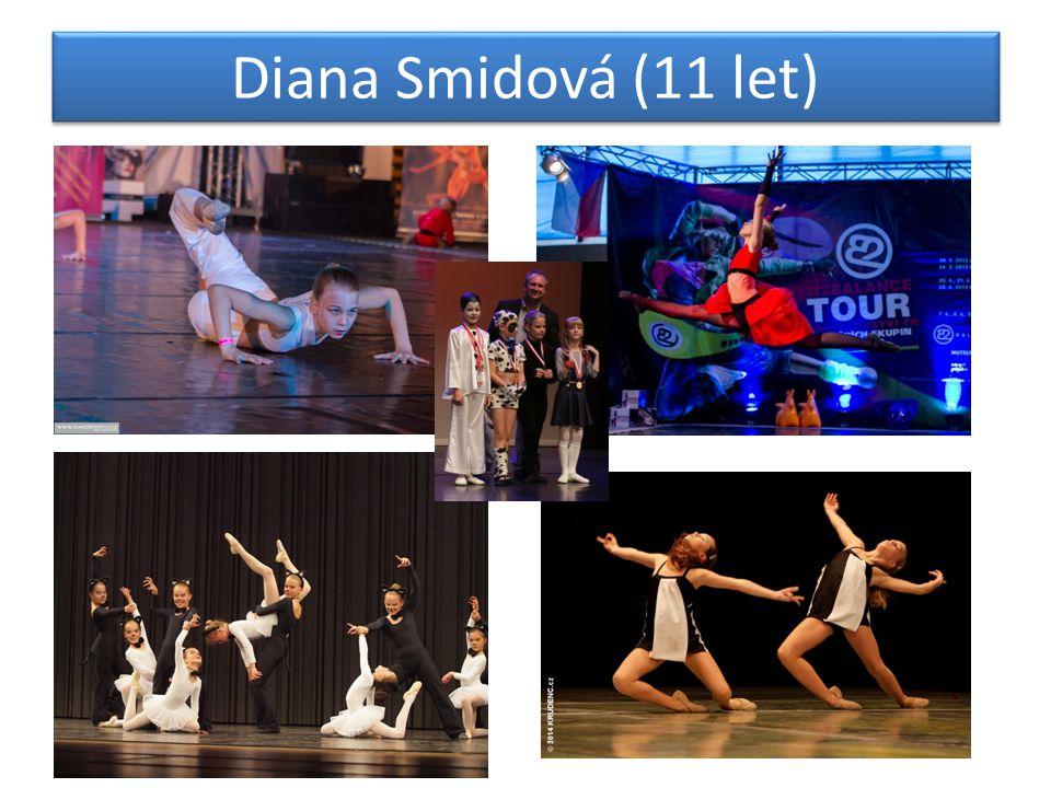 Diana Smidová (11 let)