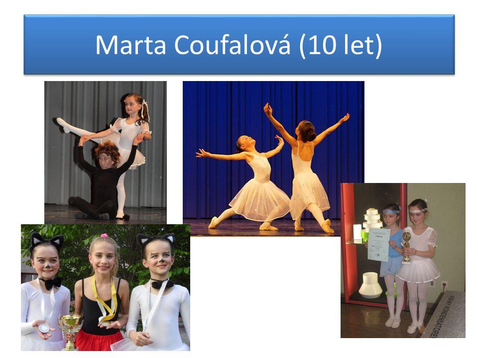 Marta Coufalová (10 let)