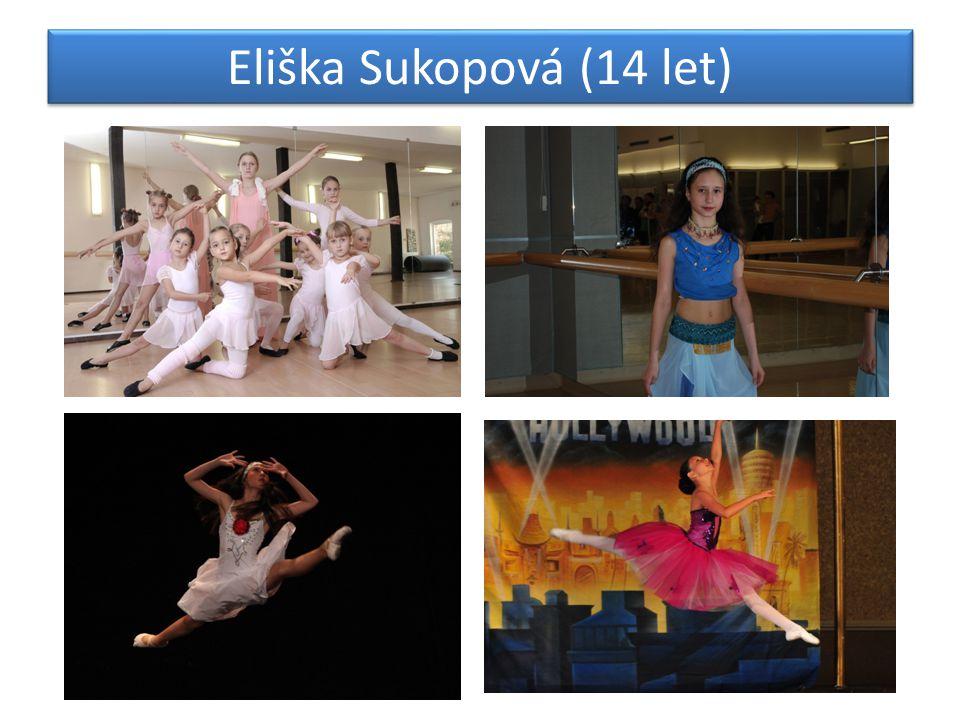Eliška Sukopová (14 let)