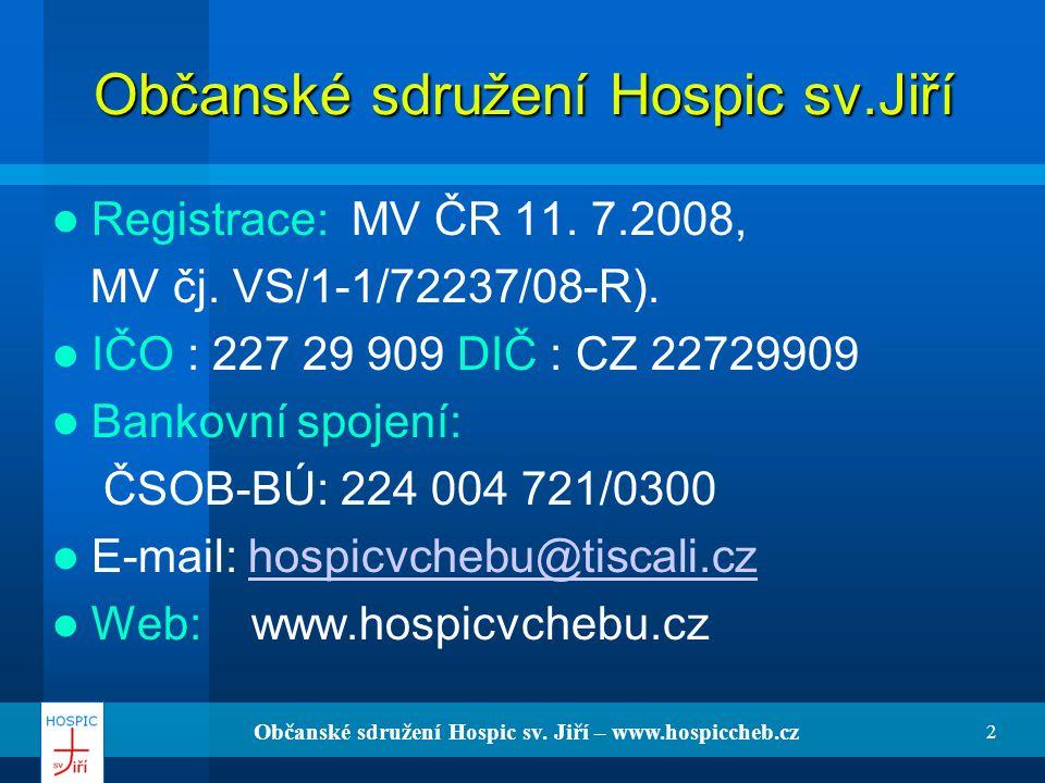 Občanské sdružení Hospic sv.Jiří