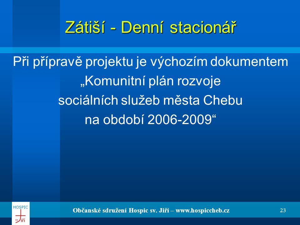 Zátiší - Denní stacionář