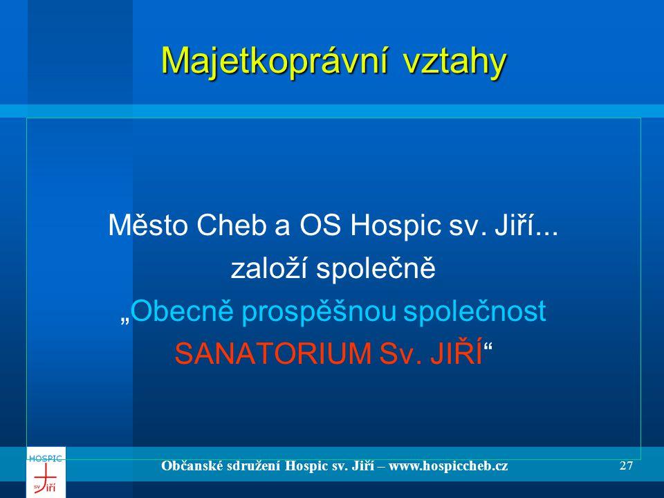 Občanské sdružení Hospic sv. Jiří – www.hospiccheb.cz