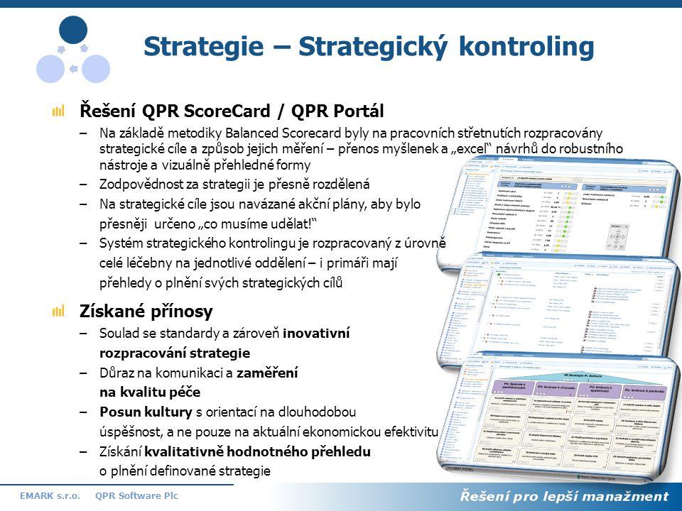 Strategie – Strategický kontroling