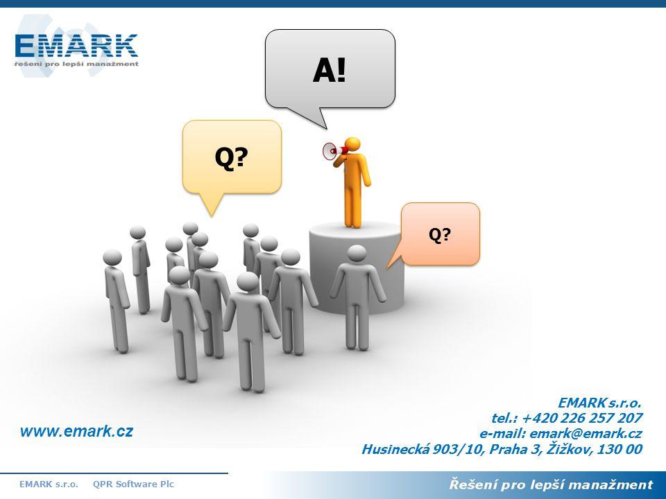 A! Q Q www.emark.cz EMARK s.r.o. tel.: +420 226 257 207