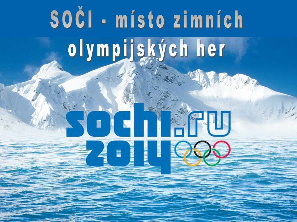 SOČI - místo zimních olympijských her