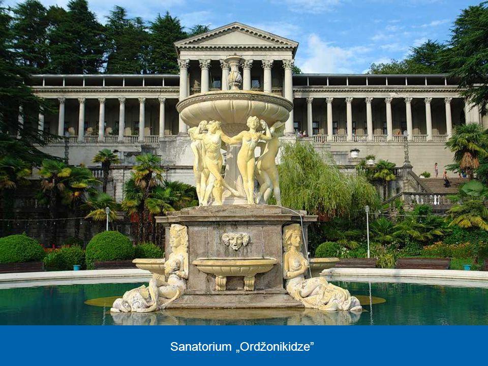 """Sanatorium """"Ordžonikidze"""