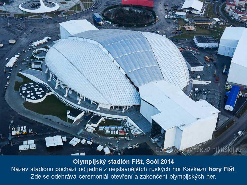 Olympijský stadión Fišt, Soči 2014