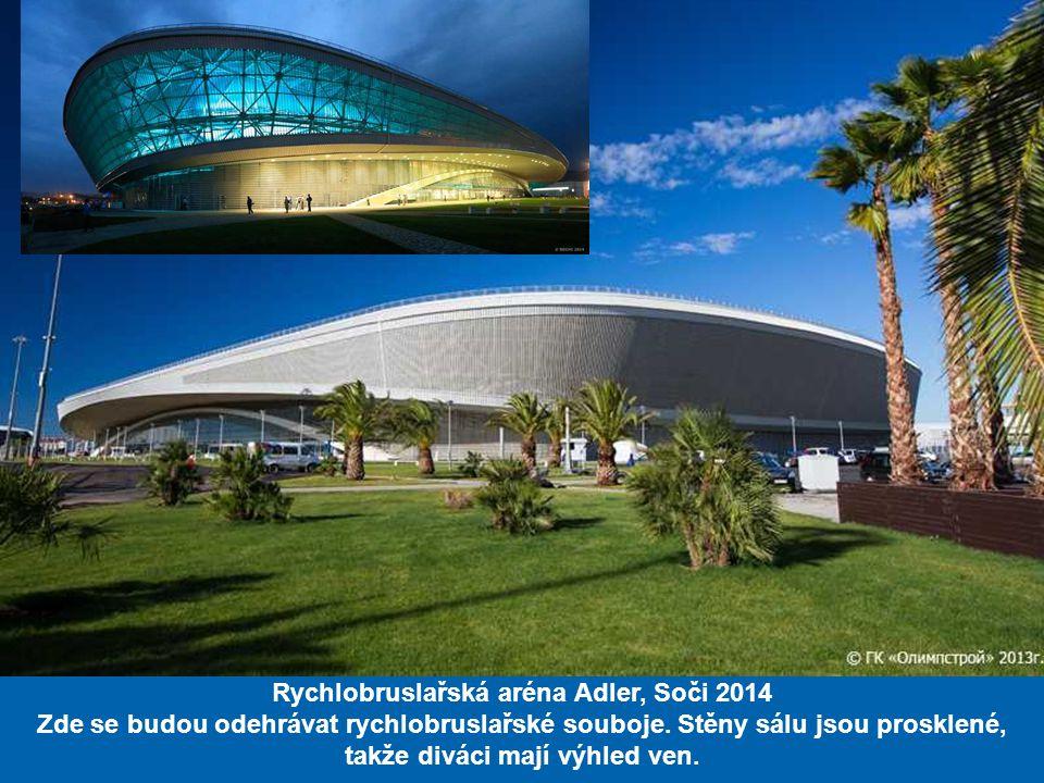 Rychlobruslařská aréna Adler, Soči 2014