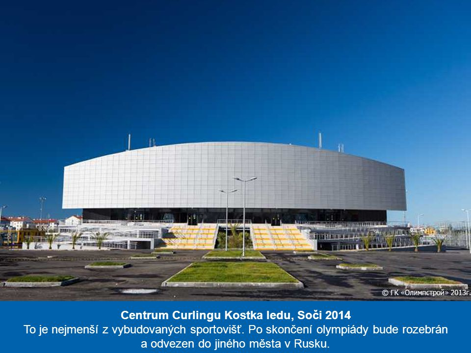 Centrum Curlingu Kostka ledu, Soči 2014