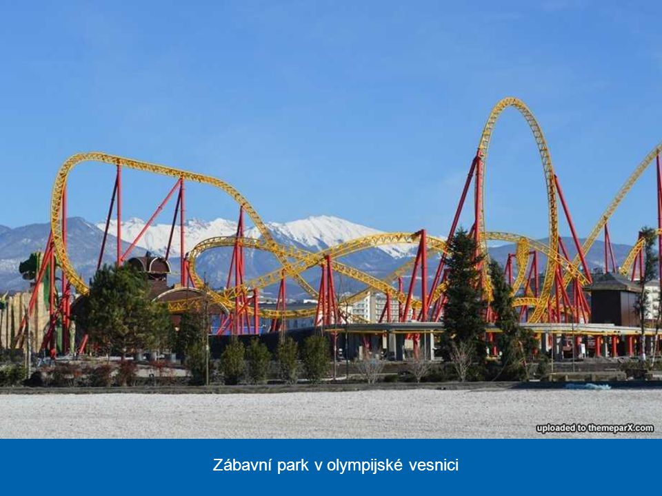 Zábavní park v olympijské vesnici