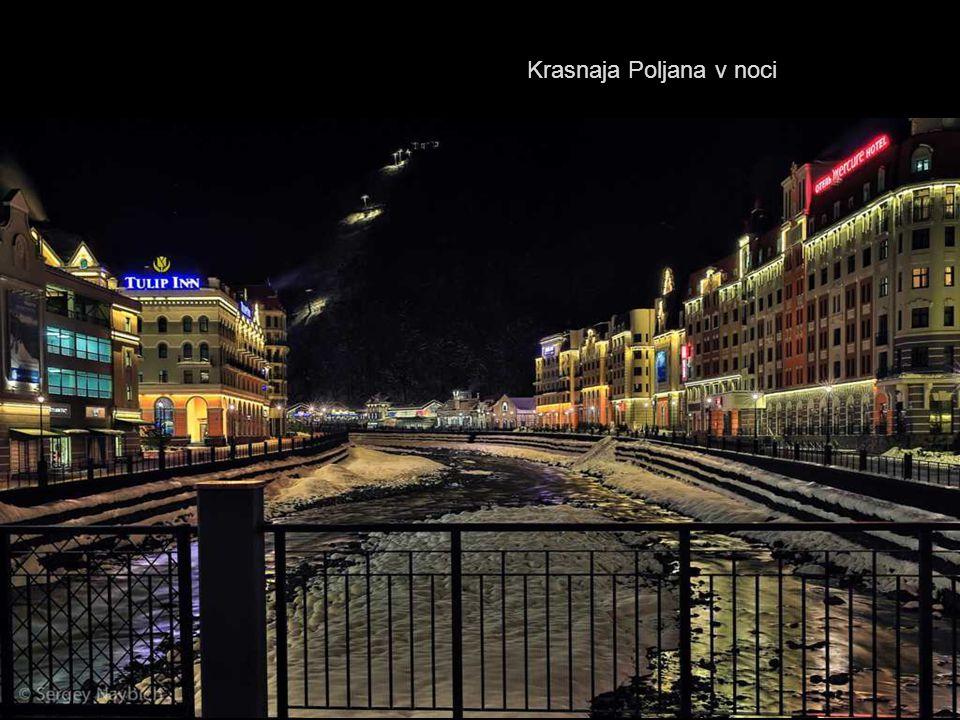 Krasnaja Poljana v noci