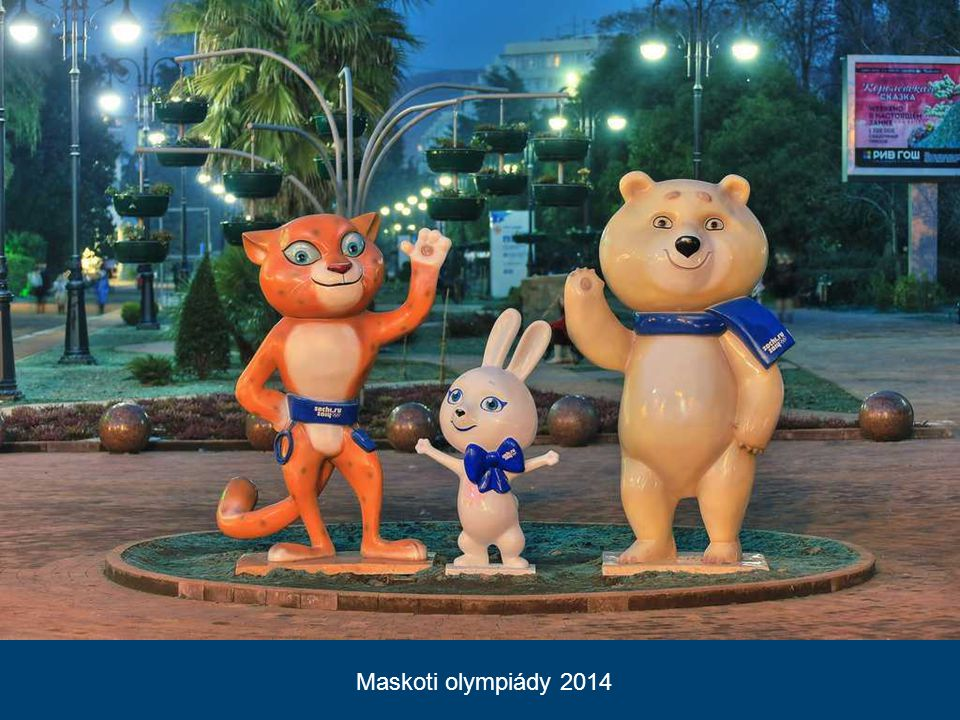 Maskoti olympiády 2014