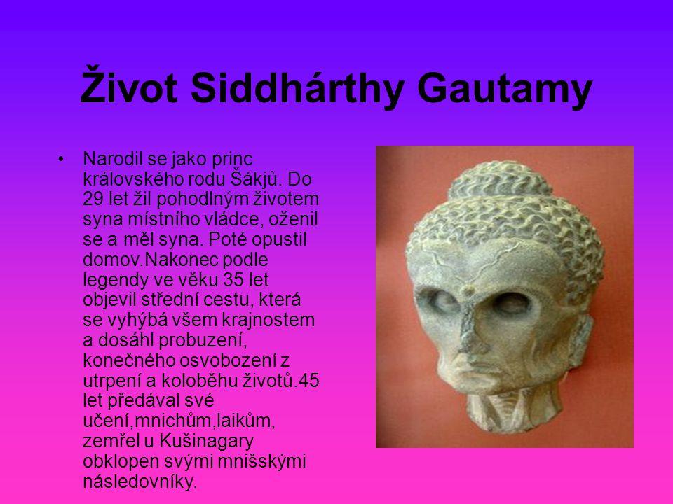 Život Siddhárthy Gautamy