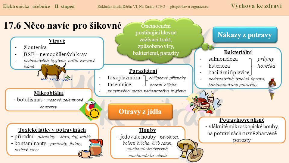 Toxické látky v potravinách