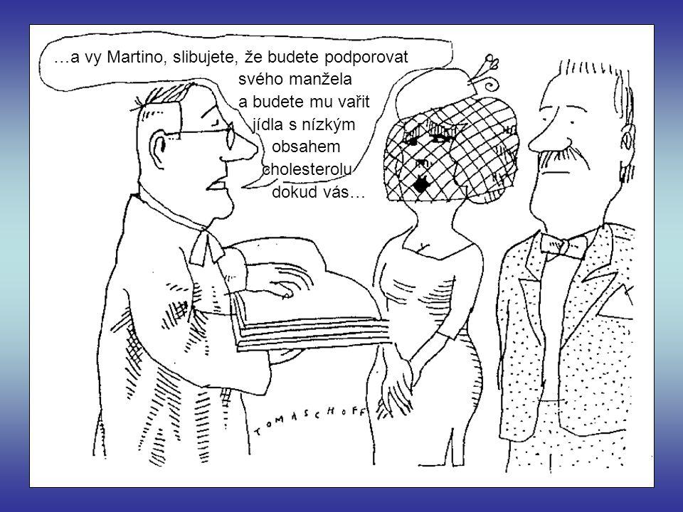 …a vy Martino, slibujete, že budete podporovat svého manžela