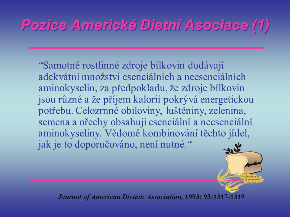 Pozice Americké Dietní Asociace (1)