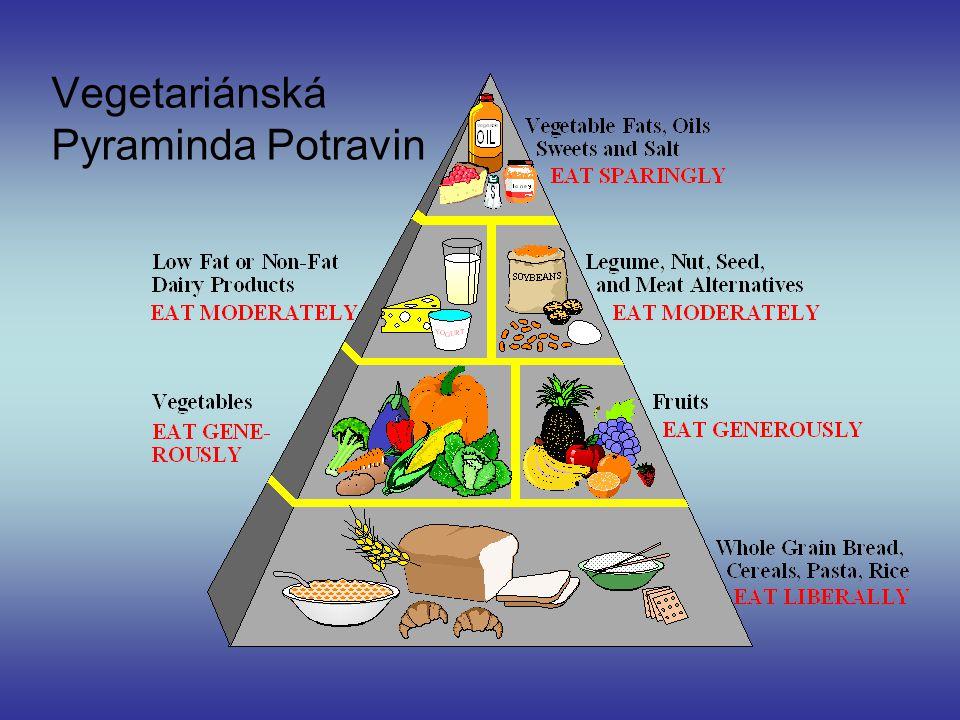 Vegetariánská Pyraminda Potravin
