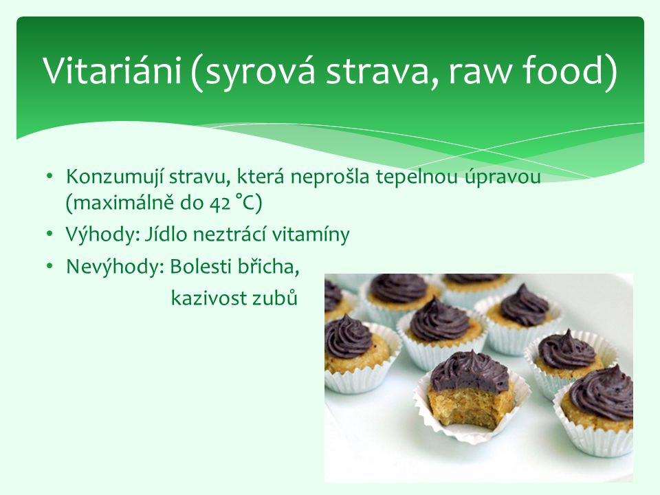 Vitariáni (syrová strava, raw food)