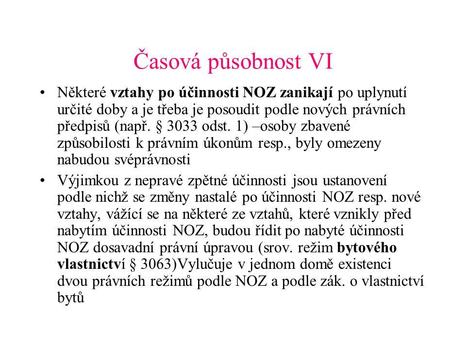 Časová působnost VI