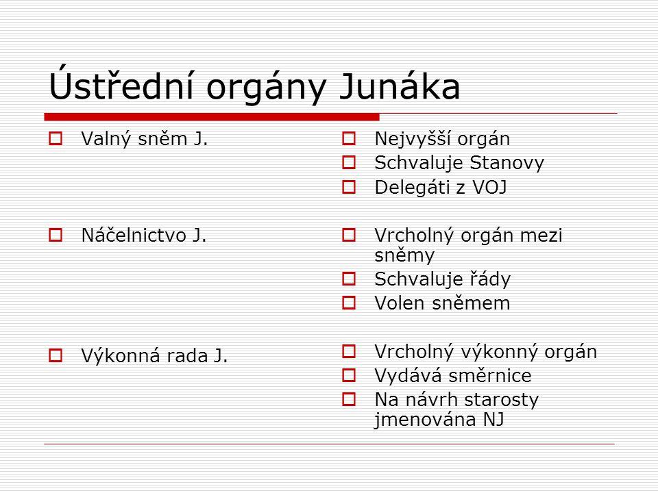 Ústřední orgány Junáka