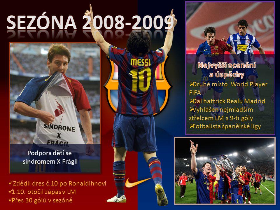 Sezóna 2008-2009 Nejvyšší ocenění a úspěchy