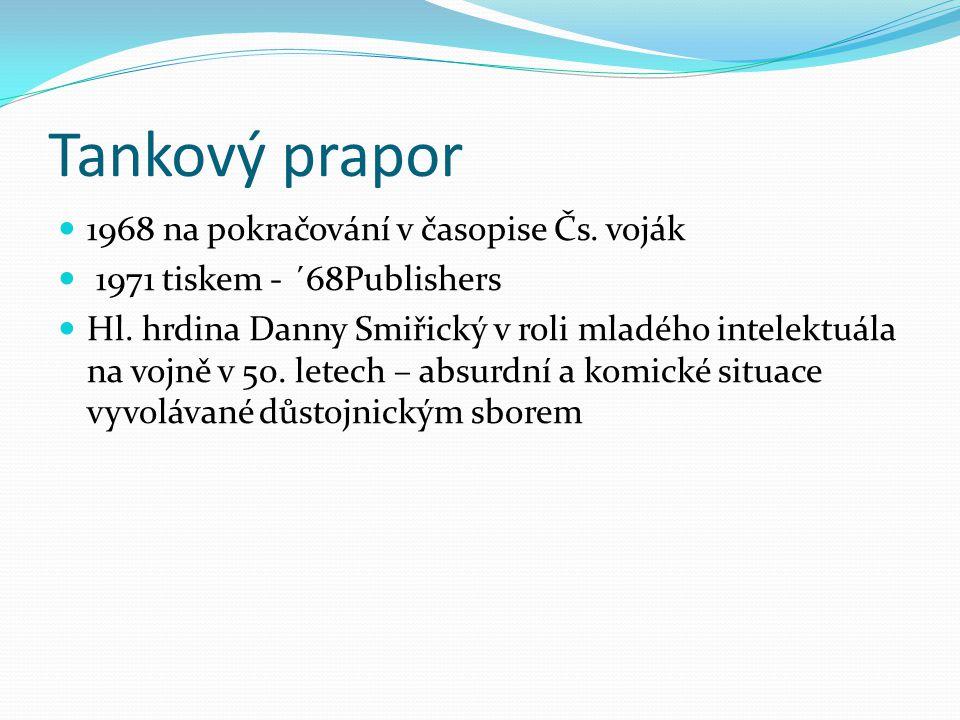 Tankový prapor 1968 na pokračování v časopise Čs. voják