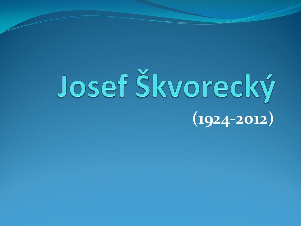 Josef Škvorecký (1924-2012)