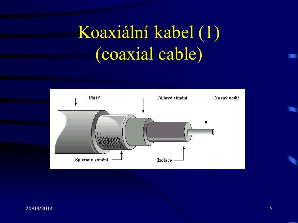 Koaxiální kabel (1) (coaxial cable)