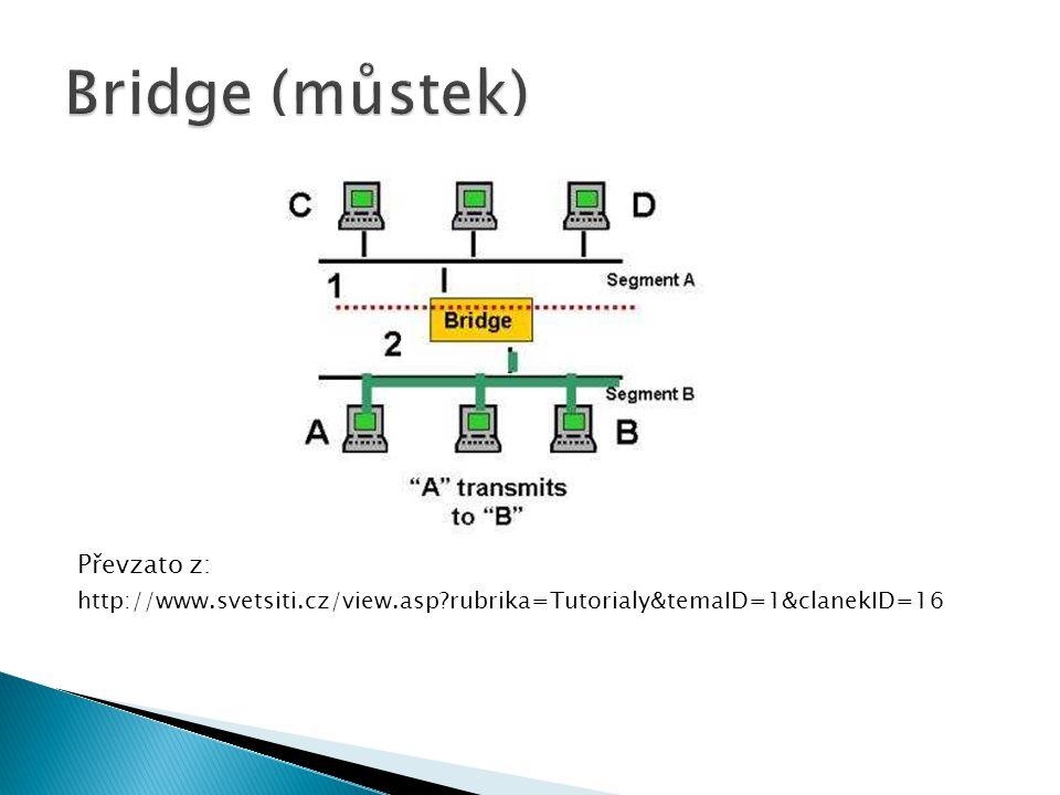 Bridge (můstek) Převzato z: