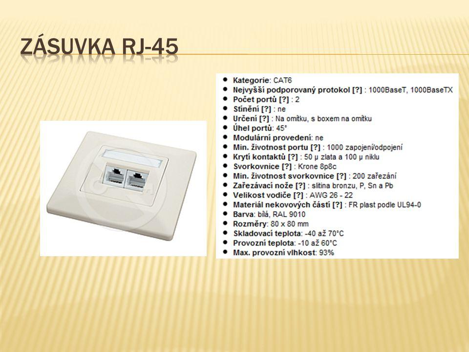 Zásuvka RJ-45
