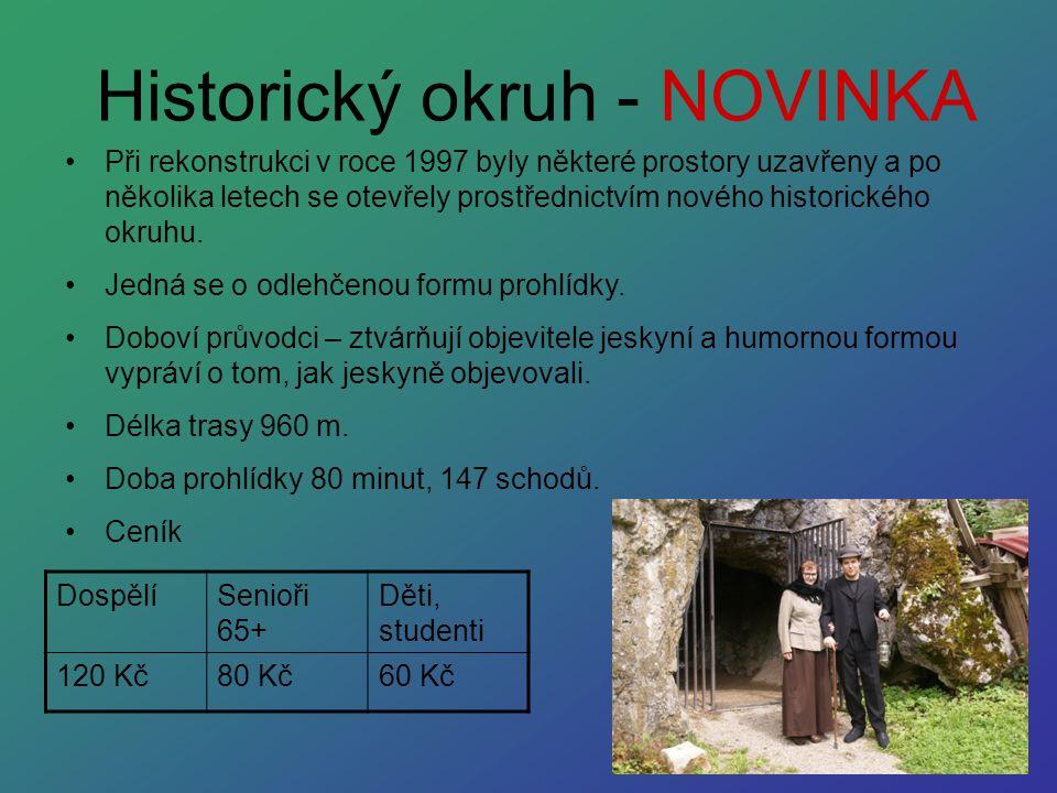 Historický okruh - NOVINKA