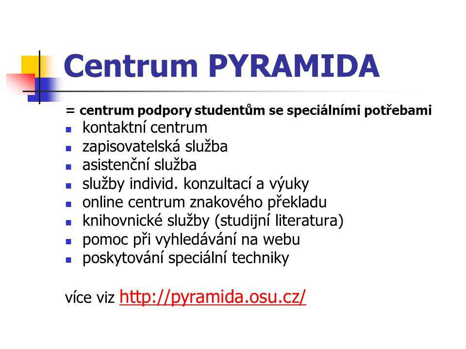 Centrum PYRAMIDA kontaktní centrum zapisovatelská služba