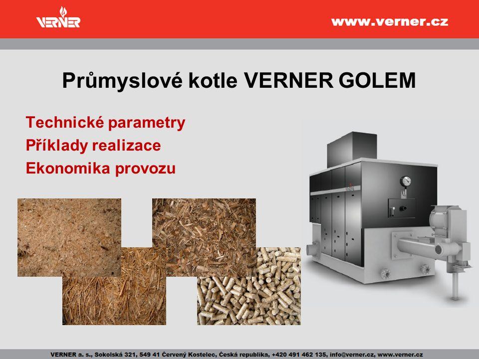 Průmyslové kotle VERNER GOLEM