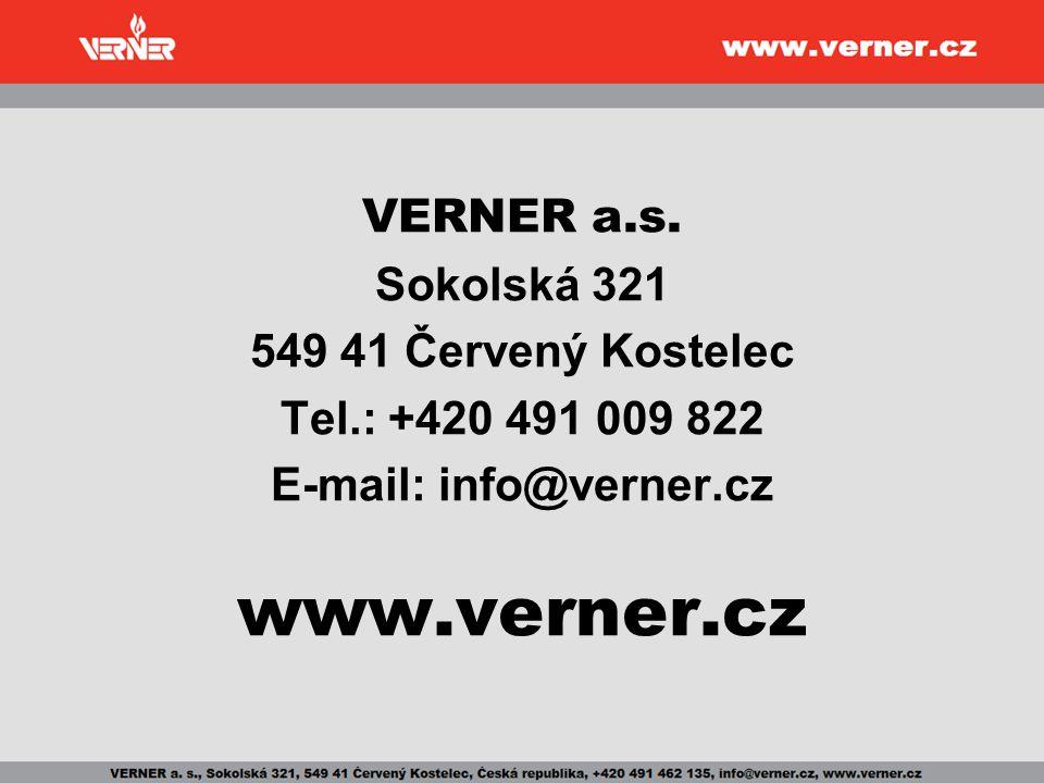 E-mail: info@verner.cz