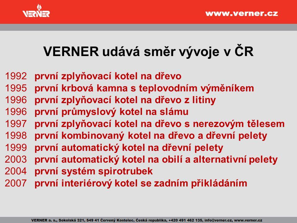 VERNER udává směr vývoje v ČR