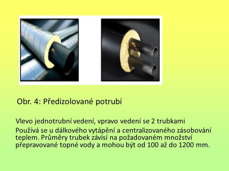 Obr. 4: Předizolované potrubí