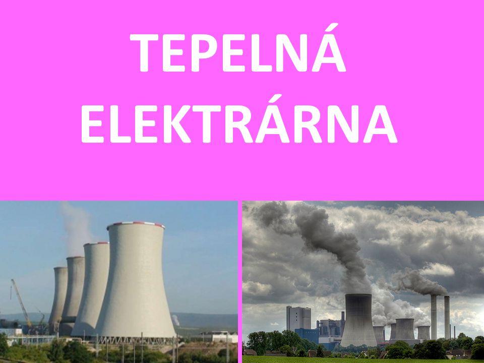 TEPELNÁ ELEKTRÁRNA