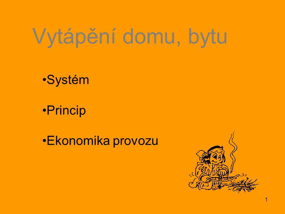 Systém Princip Ekonomika provozu