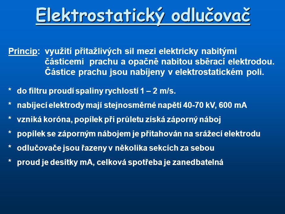 Elektrostatický odlučovač