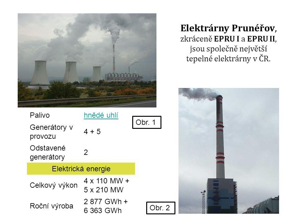 Elektrárny Prunéřov, zkráceně EPRU I a EPRU II, jsou společně největší tepelné elektrárny v ČR.