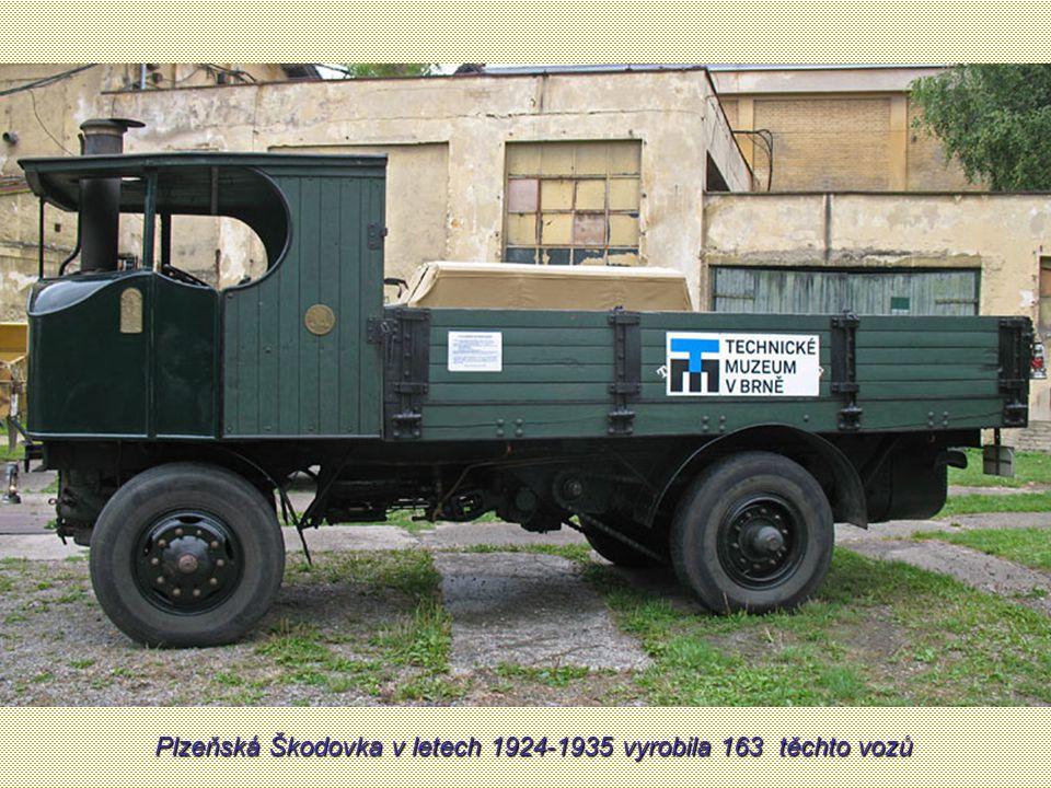 Plzeňská Škodovka v letech 1924-1935 vyrobila 163 těchto vozů